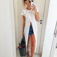 Trend de verão: Maxi Tshirt