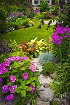 Garden Design Basics. An informal rule of thirds makes for pleasing garden combinations states Ann Lovejoy from Organic Garden...