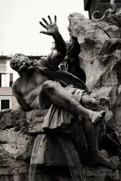 Gian Lorenzo Bernini - the culmination of the action