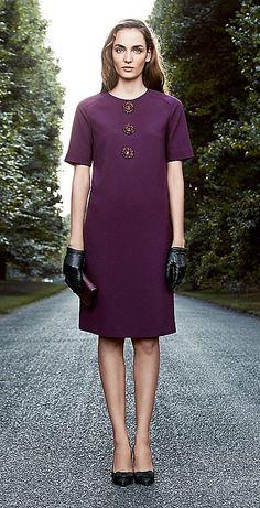 Tory Burch 2013 Holiday Lookbook - embellish a plain T-shirt dress