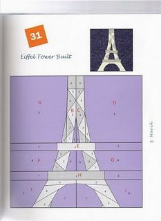 eiffel tower Blog do Patchwork: Fundation