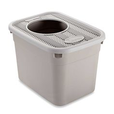 Clevercat® Top Entry Cat Litter Box >>> For more information, visit image link. (This is an affiliate link and I receive a commission for the sales)