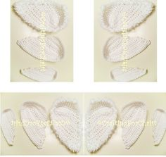 Ravelry: B's Angel/Cupid Wings (In 3 Sizes) free pattern by Crafting ForChrist Designs