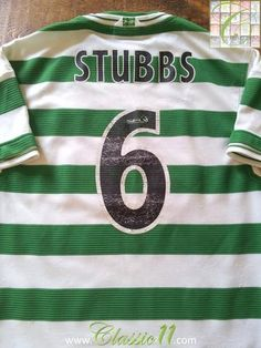 Relive Alan Stubbs's 1999/2000 SPL season with this original Umbro Celtic home football shirt.
