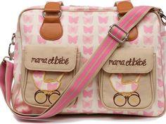 Pink Lining Τσάντα Αλλαγής Mama et Bebe Pink Butterflies