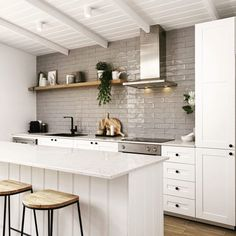 "28 Likes, 1 Comments - Legacy (@legacy_rye) on Instagram: ""Shaker profile cabinetry and handmade Spanish tiles  @legacy_rye . . . . #morningtonpeninsula…"""