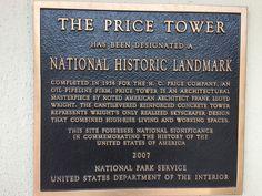 The Price Tower, National Historic Landmark