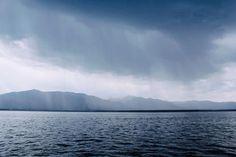 Picalls.com   Rain on the lake by Matthew Kosloski .