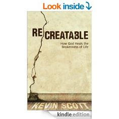 Free today Mar.24/14 only. He takes those splinters of our destruction and uses them to re-create us: complete, restored, redeemed, and fitted to do and be all that he ever intended for us. ReCreatable leads us progressively through the impact of the creative genius of God in our lives. It points us to the reality of restored relationships, the resurrection of our role as true reflectors of God's glory...