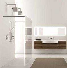 White, wood and glass: Bathroom Design, Interior, Kitchens Design, Modern Bathroom, Pools Houses, Bathroom Ideas, Bathroom Shower, Bathroom Decor, Design Bathroom