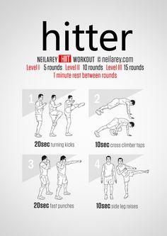 Hitter Workout