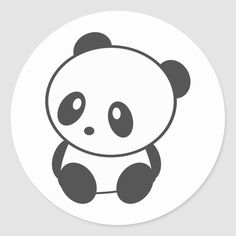 A sheet of panda stickers. You can find more panda stickers in my store. Size: inch (sheet of Gender: unisex. Round Stickers, Cute Stickers, Panda Store, Cute Panda Wallpaper, Panda Gifts, Panda Wallpapers, Bear Face, Doodle Sketch, Cute Doodles
