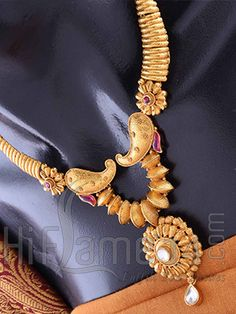Necklace Jewelry Set with Amazing Antique Finish
