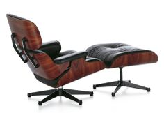 Eames Lounge Chair & Ottoman Santos Palisander Beauty Edition By Vitra Eames Recliner, Eames Style Lounge Chair, Eames Chairs, Lounge Sofa, Charles Eames, Lounges, Vitra Design, 3d Design, Modern Design