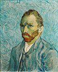 """Vincent van Gogh, """"Autoritratto"""", 1889, olio su tela. Parigi, Musée d'Orsay"""