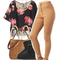 A fashion look from December 2014 featuring pattern shirts, slim skinny jeans and embellished shoes. Browse and shop related looks.