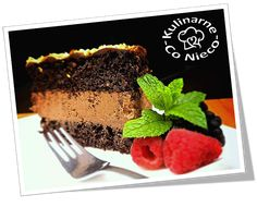 "Kulinarne ,,Co Nieco"" - blog kulinarny: Keto Ciasto Czekoladowe Keto, Desserts, Blog, Tailgate Desserts, Deserts, Postres, Blogging, Dessert, Plated Desserts"