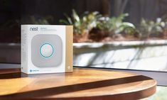 The Nest Protect smoke and CO alarm that thinks, speaks and alerts you on your phone. Effortlessly hush the alarm on the Nest app if you burn the toast. Home Security Tips, Security Tools, Ring Video Doorbell, Smoke Alarms, Home Upgrades, Works With Alexa, Home Automation, Home Repair, Bricolage