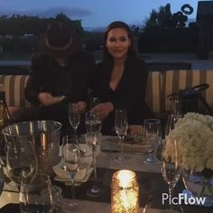 Naya Rivera at her brother's engagement and wedding celebration