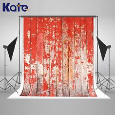 Kate 10x20FT Red Photography Backdrops Old Wood Wall Background Vintage Wedding Backdrops for achtergronden voor fotostudio #Affiliate