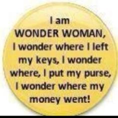 Wonder Woman...too funny!