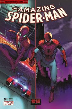 Amazing Spider-Man #1 variant cover by Jerome Opena and Olivier Coipel *