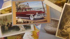 Lot of 50 Vintage Postcards -- fine art, modern art, religious, travel, kitsch