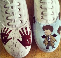 Hey, I found this really awesome Etsy listing at https://www.etsy.com/listing/192674913/supernatural-custom-canvas-shoes