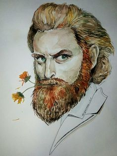 #daryasnoopy_art #art #artist #watercolor #gameofthrones #man