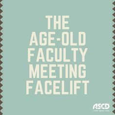 """""""Just because we have always run faculty meetings a certain way, that is not a justification for continuing what is so obviously a bad, or at least an unproductive practice. Administrators need to stop observing and commenting on how technology is being used by others in their school and begin employing it themselves to improve their schools. In so doing they would be modeling for all the thoughtful, meaningful, and responsible way to use technology in education without fear."""" Tom Whitby"""