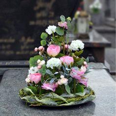 Grave Decorations, Table Decorations, Funeral Flowers, Flower Arrangements, Floral Wreath, Wreaths, Home Decor, All Saints Day, Floral Arrangements