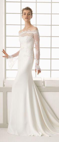 Rosa Clara Spring 2016 wedding dress - Belle The Magazine