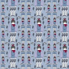 Gray Is Beautiful Mabel I'm All Woman Fabric fabric by lworiginals on Spoonflower - custom fabric