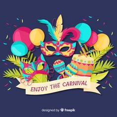 More than 3 millions free vectors, PSD, photos and free icons. Exclusive freebies and all graphic resources that you need for your projects Carnival Background, Party Background, Mardi Gras Carnival, Carnival Masks, Creative Background, Christmas Table Decorations, Party Poster, Party Flyer, Background Patterns