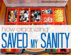 organizing saved my sanity