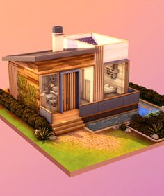 Sims 4 Gameplay, Casas The Sims 4, Sims House Design, Sims Ideas, Sims 4 Build, Sims 4 Houses, House Plans, Content, The Originals