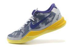 online store c1d70 b9b75 Really Cheap Kobe 2018 Buy Nike Kobe 8 Club Purple Tour Yellow Storm Grey  555035 558