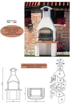 Barbecue, Garden Ideas, Floor Plans, Design, Decor, Gardens, Decoration, Barbacoa, Decorating