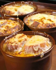 Traditional French Onion Soup...I love this soup but have yet to make it on my own..time to change that :)