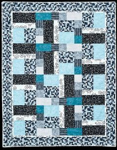 Rectangles and Squares   An elegant, straight forward quilt pattern for beginners that responds well to various colour choices   Quilts by Jen