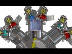 Clerget 9B Assembly Movie (HD) - YouTube