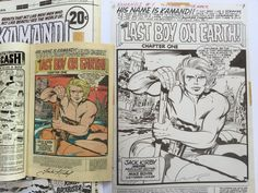 Giant book of scanned art from Jack Kirby's best comic book series: Kamandi - Boing Boing