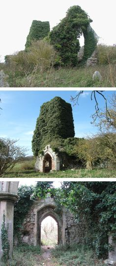 Church of St Felix is all that's left of Babingley, one of Norfolk's lost villages.  It fell into complete abandonment after 1880.