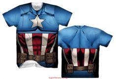Koszulka sportowa Captain America