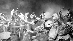 Servicio Scout durante terremoto de Caracas en 1967