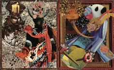 agnes montgomery. collage art.