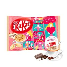 Kit Kat Mini Japanese Ume Plum 13 Bars - Made and Available Only in Japan - TAKASKI.COM Japanese Rice, Japanese Sweets, Japanese Chocolate, Mini Cafe, Uji Matcha, Baby Fruit, Japan Country, Mixed Fruit, Cocoa