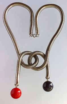 Jakob Bengel Art Deco Necklace (Ref: 6345)