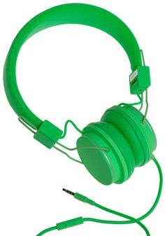Urbanears headphones with built-in microphone and remote in green, other colors available - $68