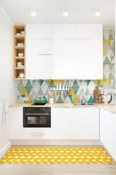 Splashbacks ideas (that aren't white subway tiles).